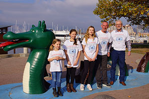 We are offering unique Ogopogo t-shirts in all sizes, displaying our exclusive photo of what must surely be Ogopogo!