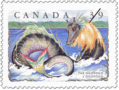 The legend of Ogopogo has been around for hundreds of years